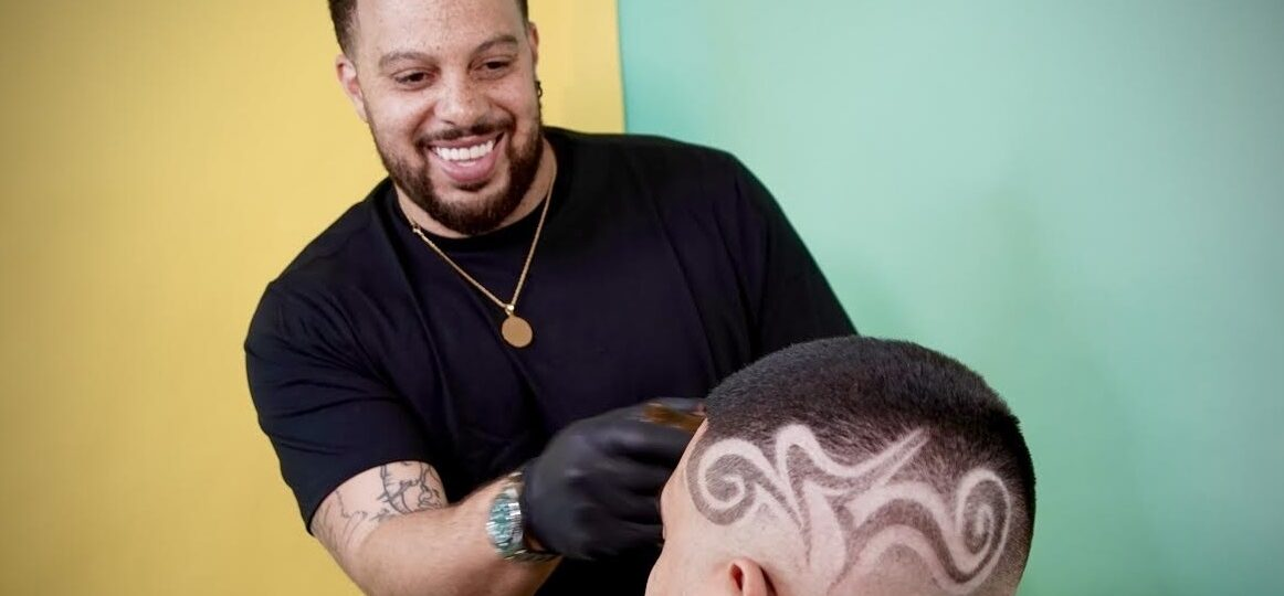 Jonathan Kalonji, Also Known as Bestest, is an Educator and Entrepreneur Who Runs a Barber Business Where He Offers the Best Service Using Products Like Bestest Mirror